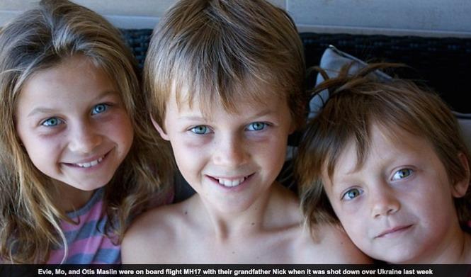 Эви, Мо и Отис Маслин летели домой, в Австралию