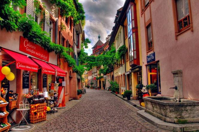 Улицы Фрайбурга