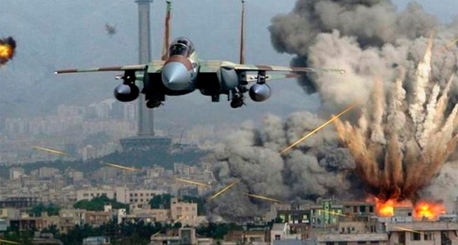 Совковые асы громят Алеппо
