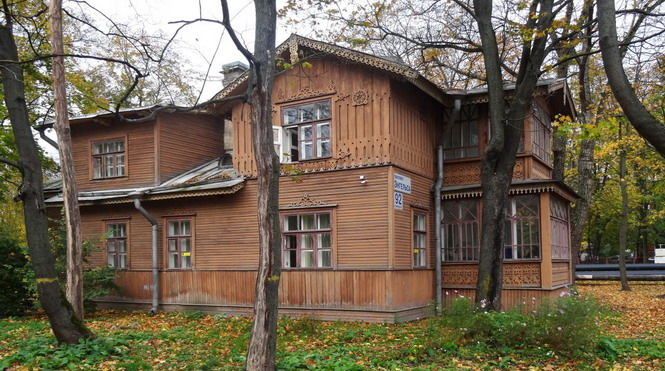 Квартира Калинина, одно из мест конспиративных встреч Ленина в октябре 1917