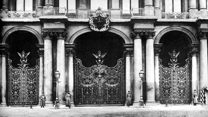 Главные ворота Зимнего дворца