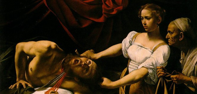 Юдифь и Олоферн (Караваджо, 1599 год)