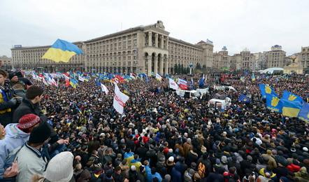 Киев 1 декабря 2013