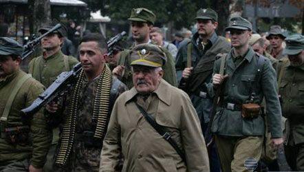 Львов. Марш в честь 70-летия УПА