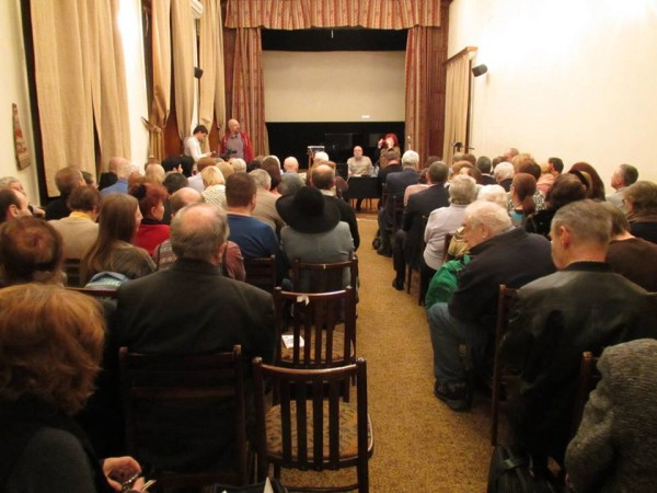 Зал на вечере памяти Левитанского 23 января 2017 года