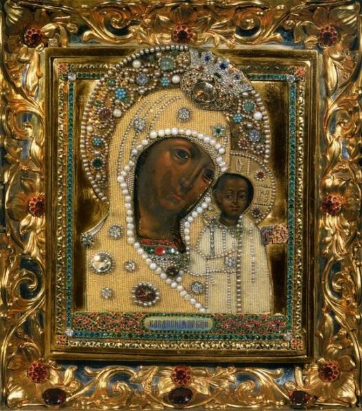 Икона Божией Матери Казанская (Московский список)