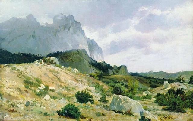 Скалистый берег 1879