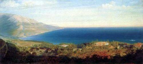 Южный берег Крыма. Вид на Ливадию сверху