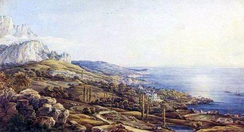 Крым. Вид Ореанды