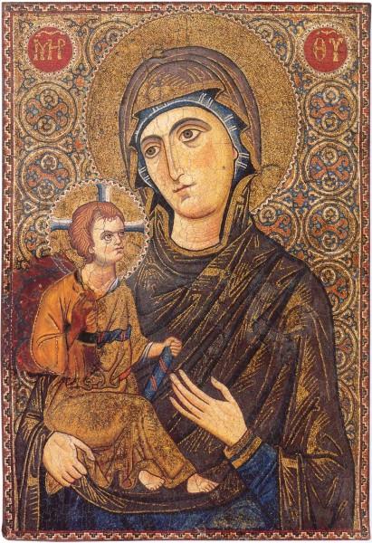 Мозаическая икона. Византия. XIII в. Монастырь св.Екатерины, Синай, Египет