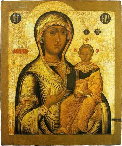 Смоленская икона. Палех. XVII в.