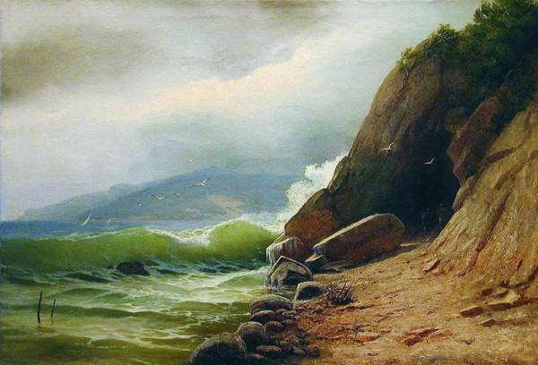«Грот на берегу моря»