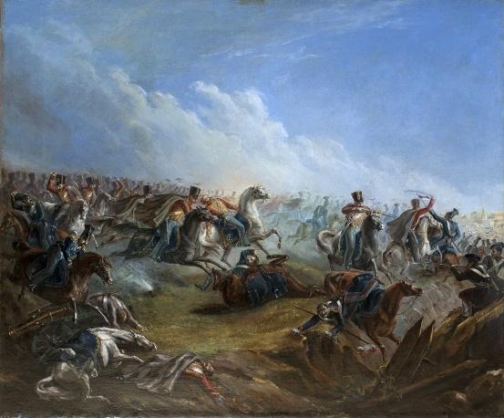 Атака лейб-гвардии гусар под Варшавой 26 августа 1831 года