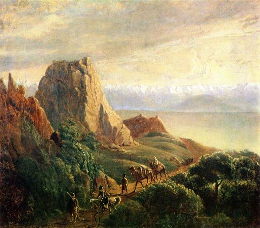 Окрестности селения Караагач 1837