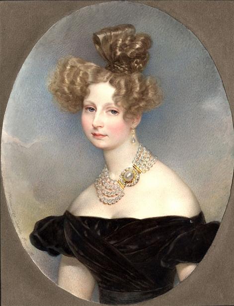 К. Брюллов. Портрет великой княгини Елены Павловны (1829)