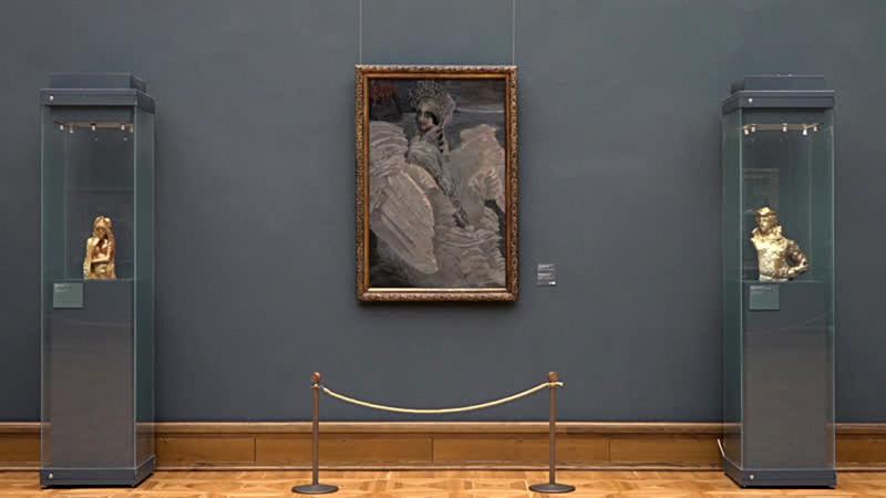 1. Михаил Врубель. «Царевна-лебедь». 1900. Фото: Государственная Третьяковская галерея