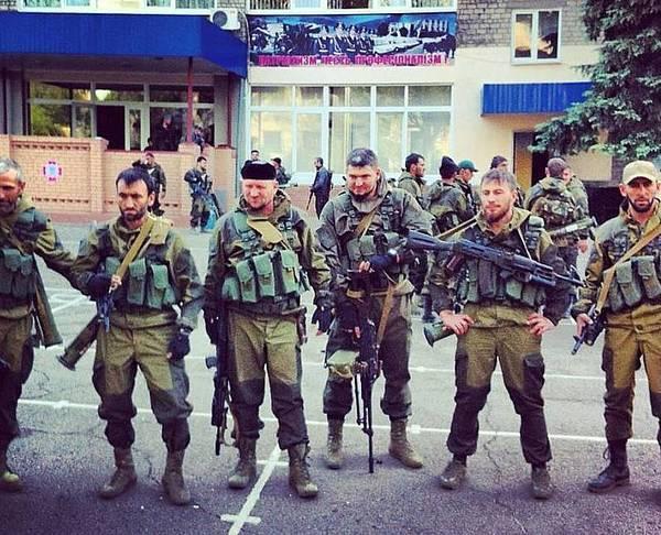 чеченские наемники путлера
