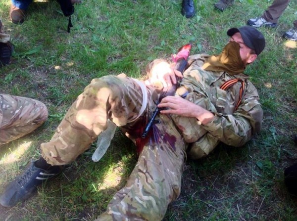 украинского снайпера он будет помнить долго