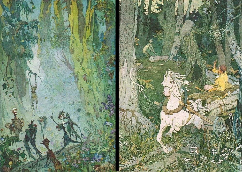 Сказка Шурале, Татарская сказка - читать для детей онлайн | 712x1000
