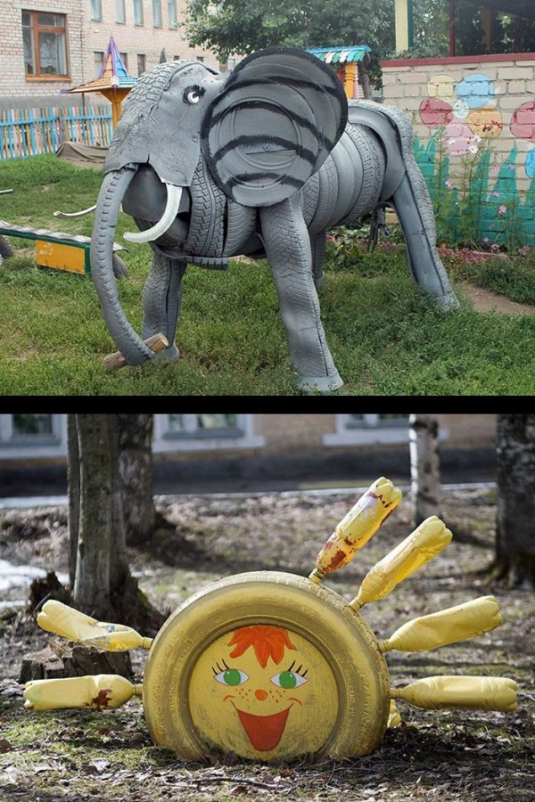 trash tyre sculptures.jpg