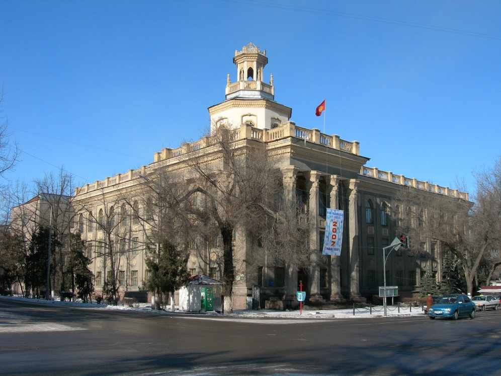 College of Soviet Commerce (no vans)