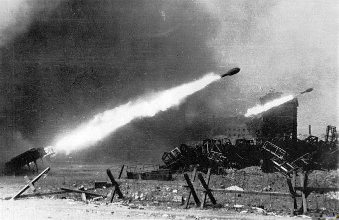 Бомбардировка Варшавы ракетами