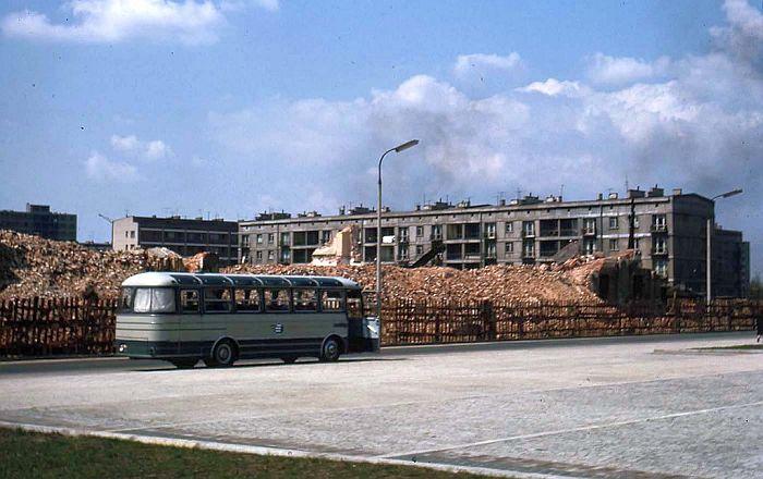 Руины и новостройки Варшавы, 1964 1