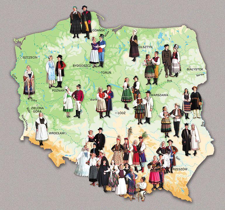 Польские народные костюмы 1