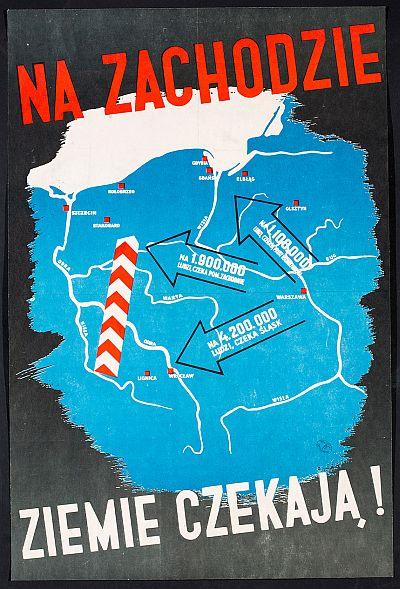 Poster Zachod Ziemie czekaja