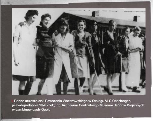 Участницы Варшавского восстания в концлагере