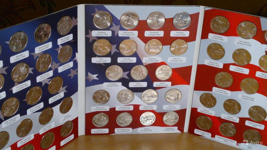 25-центов-США