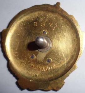 Орден-Ленин-реверс -фалеритика-СССР-золото