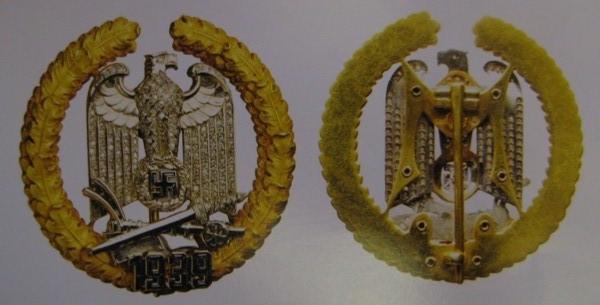 Золото-Награда-Германии-Третий-Рейх-1939-Gau-Warte-bage