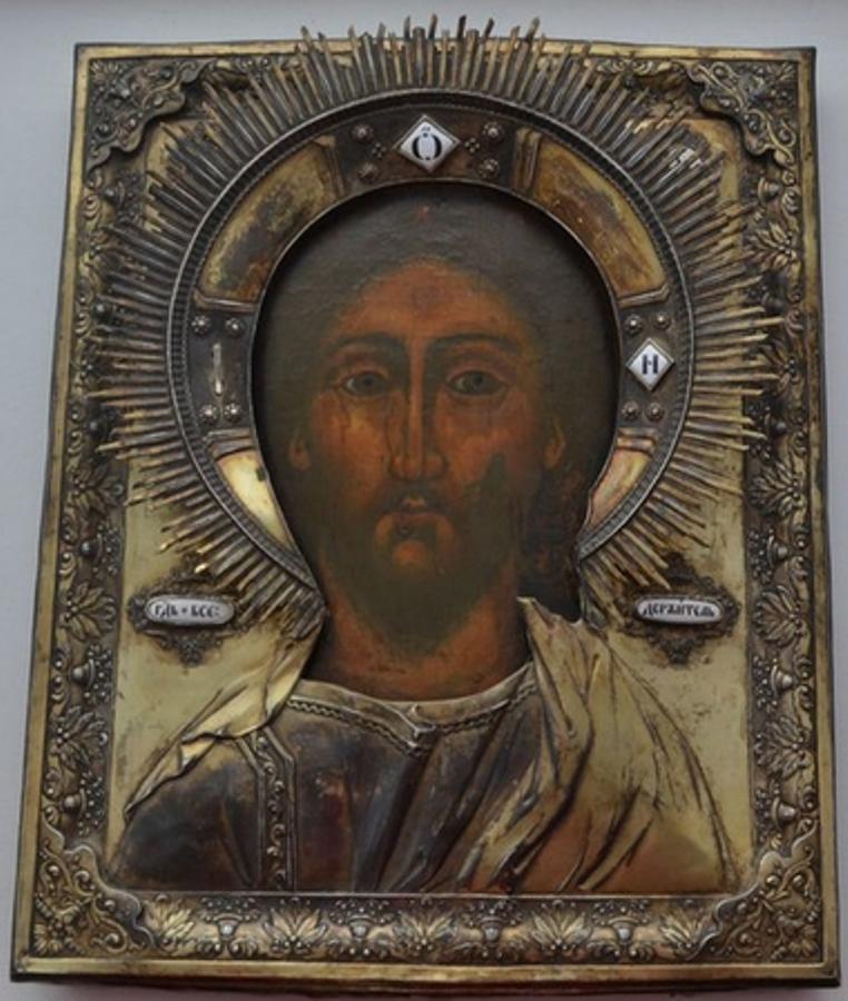 Икона-Иисус-общий-вид
