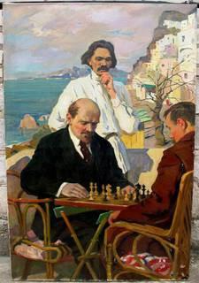 Картина-шахматный-клуб