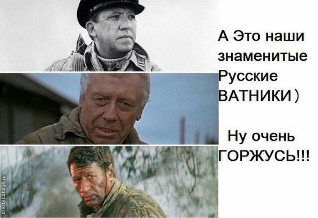 русские ватники