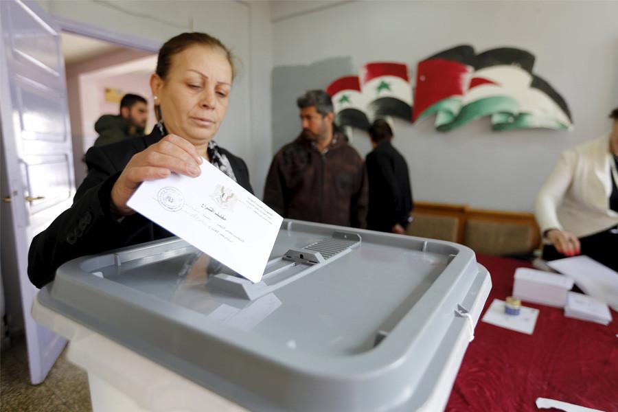 выборы Сирия