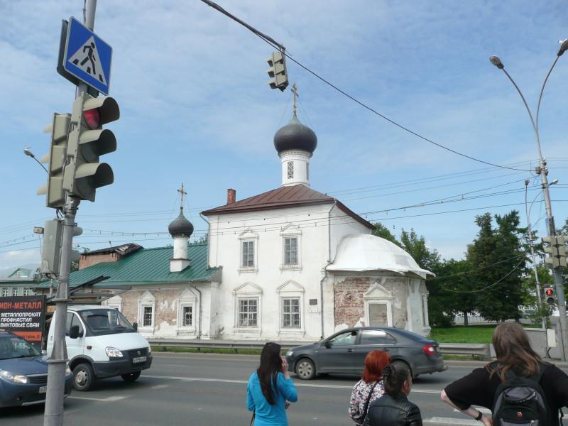 Казанская церковь 1760 года постройки.