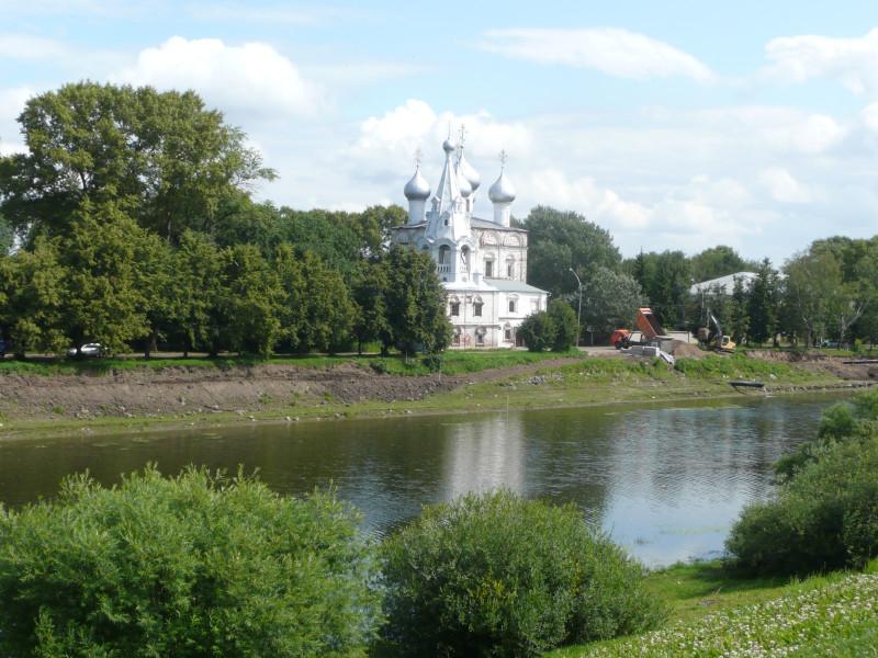 Река тоже Вологда )