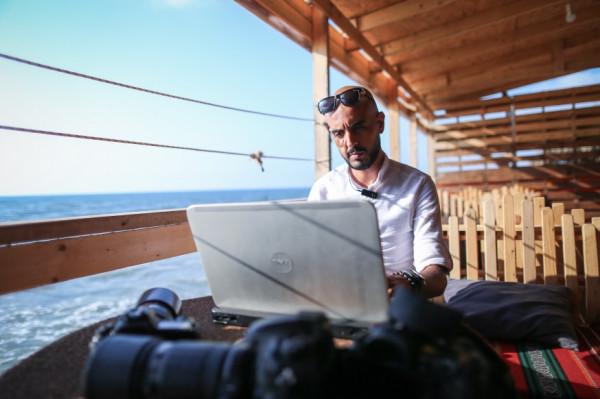 Журналистская работа в Газе опасна для жизни.