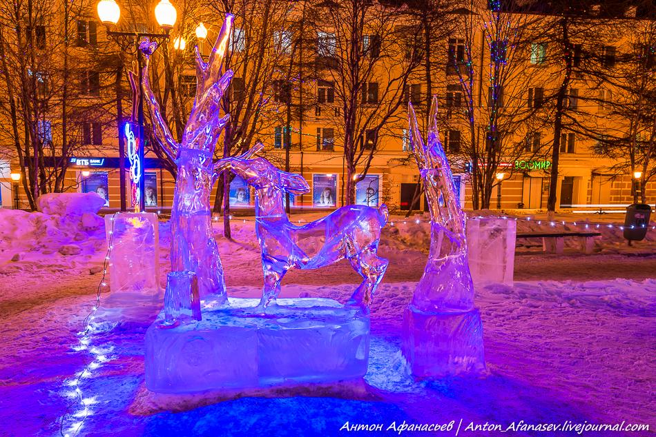 Магадан, зима