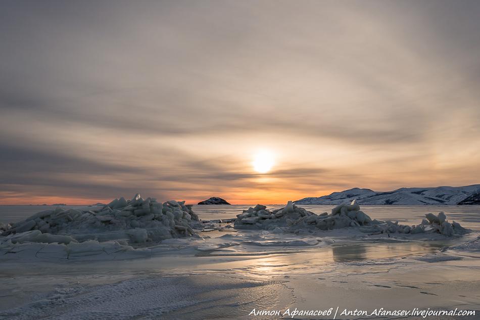 Зима, Магадан, Охотское море