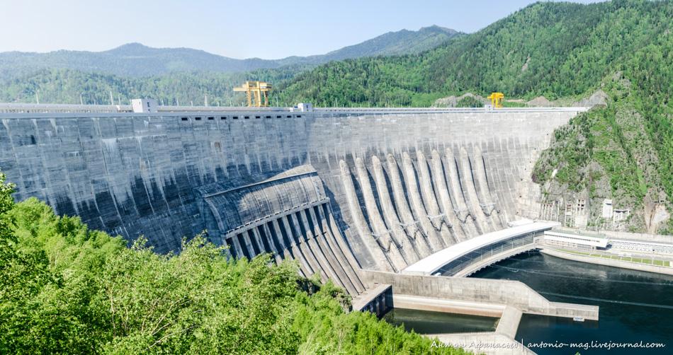 Саяно-Шушенская, ГЭС