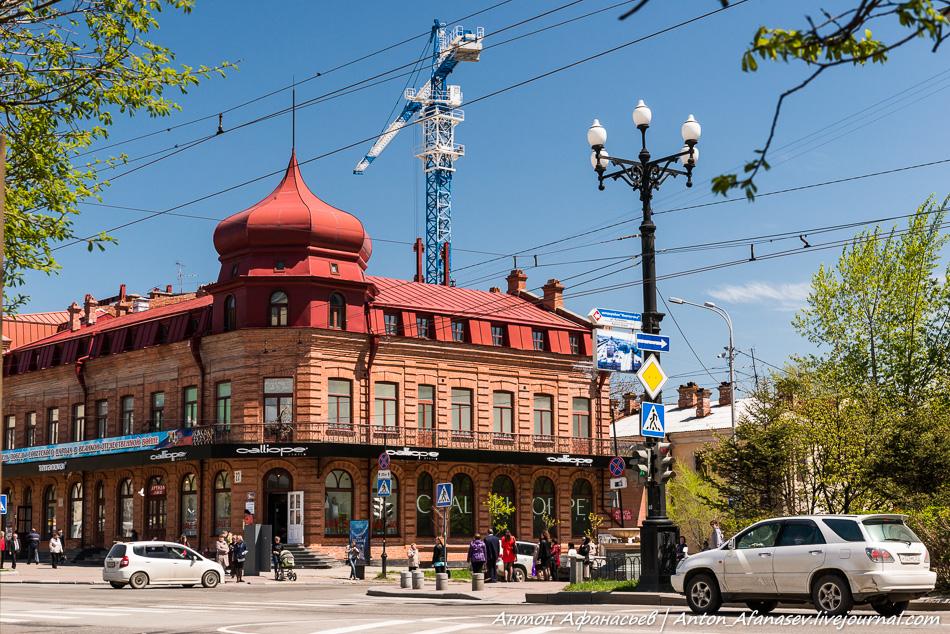 Памятник архитектуры – доходный дом  И.А. Гржибовского