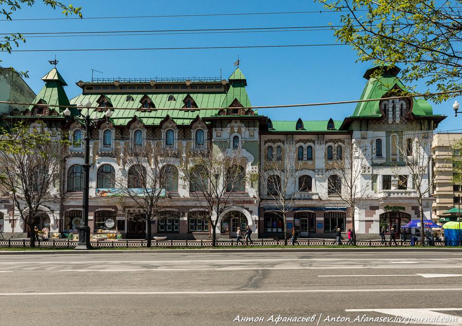 Памятник архитектуры – городской дом инженеров  П.В. Бартошевича и  Б.А. Малиновского
