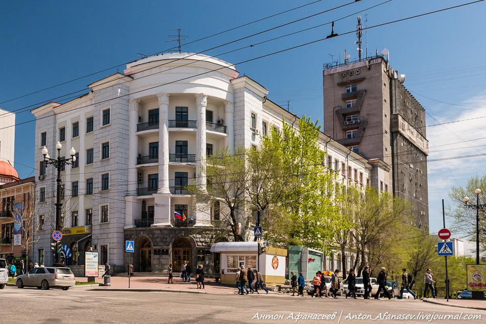 Памятник архитектуры – Главдальстрой, архитектор Е.Б. Серебряков  1937 год