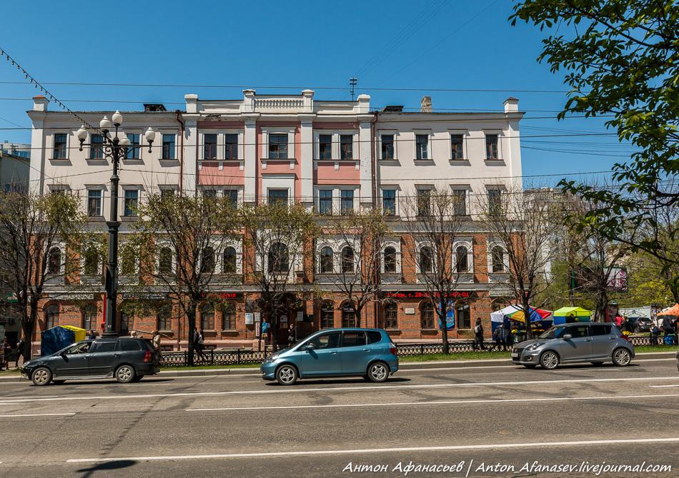 Памятник архитектуры – Канцелярия  Приамурского генерал-губернатора 1895-1896 год