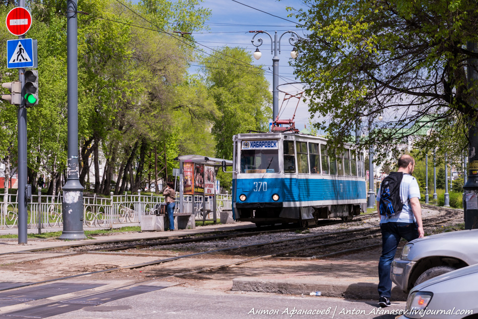Трамвай в Хабаровске