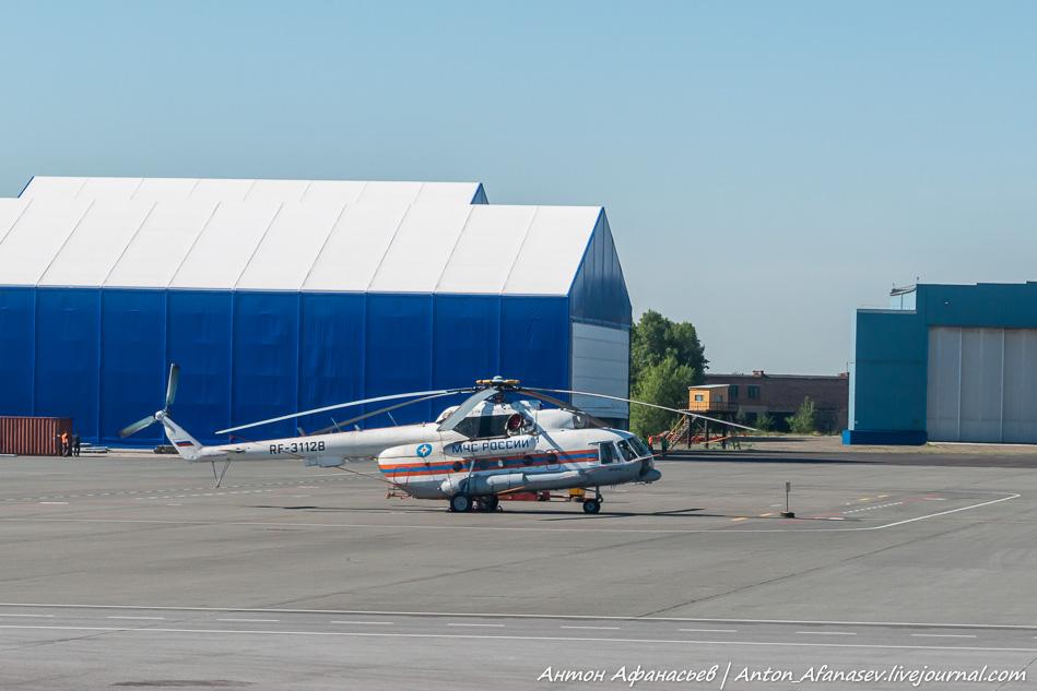 Полет Абакан-Москва