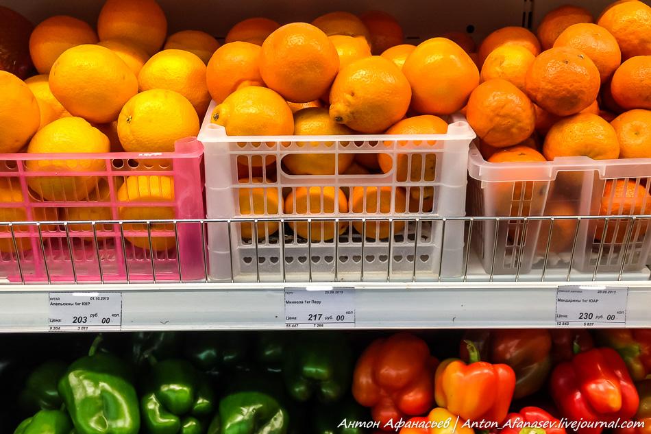Цены Магадан, сентябрь 2015